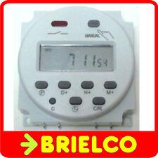 Pequeño LCD Digital Temporizador Programable 240V AC 16A conmutado 12V con tecnología vendedor del Reino Unido.