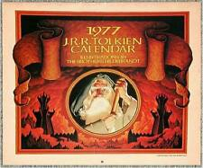 1977 JRR TOLKIEN CALENDAR ~ BROTHERS HILDEBRANDT ILLUS