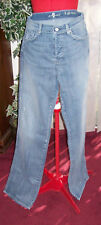 NEW  7 FOR ALL MANKIND A PKT RELAX  DISTRS JEANS  SZ 30