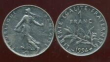 FRANCE  FRANCIA  1 FRANC 1994 semeuse ( bis )
