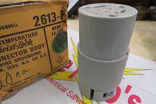 Hubbell 2613-F Twist-Lock Connector Body Nema L5-30R, 30 amp 125 Volt, female