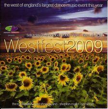 (RAVE FLYER 2009) SLAMMIN VINYL @ WESTFEST 2009, ROYAL BATH & WEST SHOWGROUND