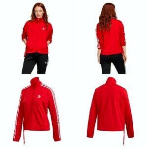 Adidas Originals 100% Polyester Tricot Track Jacket Women's Extra Large GK7173