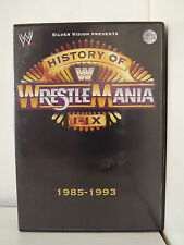 HISTORY OF WRESTLEMANIA I IX 1985-1993 DVD