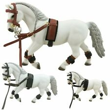 Billessy-Sella Set FREGI PER Schleich Cavallo 42457-accessori Pelle Trense