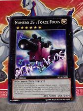 Carte YU GI OH NUMERO 25 : FORCE FOCUS SP14-FR026