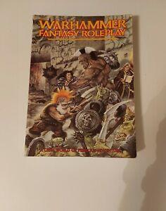 Warhammer Fantasy Roleplay 1st Edition 1988/1989 Games Workshop Soft Cover