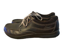 Clarks Men's 12 M Cushion With Ortholite Chocolate Brown Lace Up Shoes