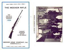 Meeker (Newton offshoot) Rifle c1924 Catalog