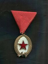 Hungary Order of Labor 3rd class