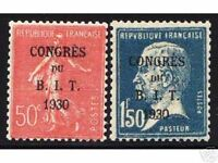 """FRANCE STAMP TIMBRE YVERT N° 264 / 265 """" SEMEUSE PASTEUR B.I.T """" NEUFS xx LUXE"""