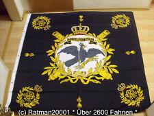 Fahnen Flagge Standarte Schwarz Preußen Premium - 150 x 150 cm
