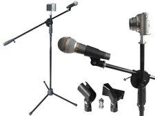 Micrófono Trípode incl. Spigot Adaptador Micro Abrazadera Soporte de enchufe