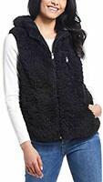 Weatherproof Vintage Ladies' Comfy Vest , Black , X-Small