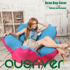 New Stylish Flower Shape Bean Bag Beanbag Cover Club Room Relaxing Sofa Chair