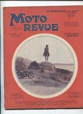 Moto Revue N°371  ;  19  avril 1930  : les soupapes en tête / Ravat 350 cmc