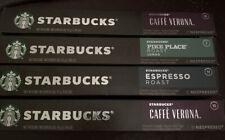 Starbucks Nespresso Capsule (2)Cafe Verona , Pike Place, Espresso Roast 40ct