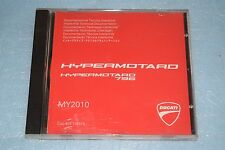 documentation technique CD Ducati HYPERMOTARD 796 de 2010