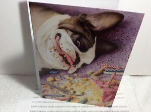 AVANTI PRESS HAPPY BIRTHDAY GREETING CARD New with Envelope B-day Cake!
