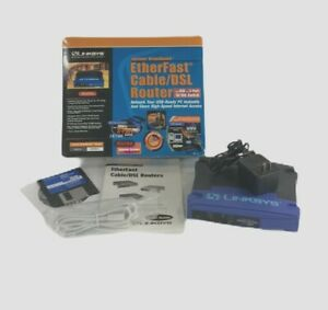 LinkSys Etherfast Cable DSL Router 3 Port 10 Switch Model BEFSRU31