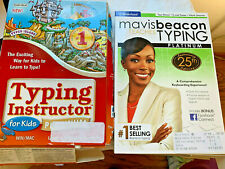 Individual Software Typing Instructor For Kids Platinum + Mavis Beacon 25th TYPE