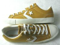 Converse Mens Star Player Ox Tumeric Gold White Canvas Shoes Size 10 NEW 161568C