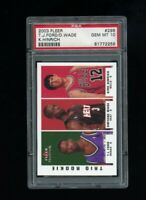 2003 Fleer Tradition Rookie Trio Ford/Wade/Hinrich #296 PSA 10 GEM MINT