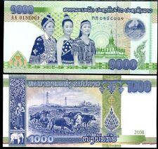 LAO LAOS 1000 1,000 KIP 2008 P 39 UNC