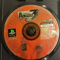 Street Fighter Alpha 3 (1999 Sony Playstation) Capcom Disc Only Game Tested