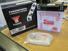 Yuasa Battery Honda 1982-1983 C70 Yamaha 1969 R3 Suzuki 1972-1975 TS400 YB5L-B