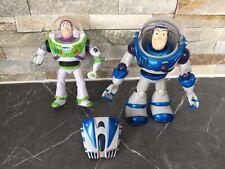 Disney Buzz Lightyear 2 x Figures Blue Special Toy Story