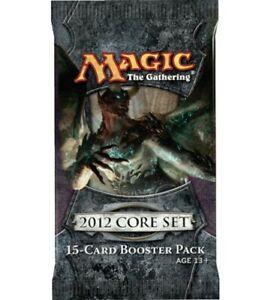 MTG Magic The Gathering  M12  Sealed Booster Packs x 3