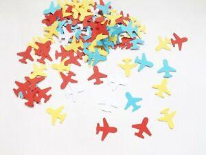 Aeroplanes Travel Papercraft Embellishments Confetti Scrapbooking Card Crafts