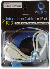 IC-3 INTEQ CABLE FOR IPOD IPHONE SOUNDSTREAM POWER ACOUSTIK TV DVD SCREEN IC3
