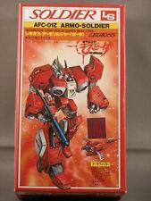 New listing Vintage Ls 1/100 Mospeada/Robotech Afc-01Z Armo Soldier Fuke/Rook Type Model