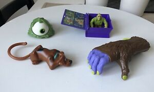 Scooby Doo McDonalds Toy Haunted House Character & The Hand Toys 2014 Lot Used