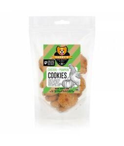 Darby's Dog Bakery & Deli oven-baked Chicken & Pumpkin dog treat cookies