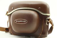【EXC+++】Voigtlander 35mm Film Camera Leather Hard Case from JAPAN #550A