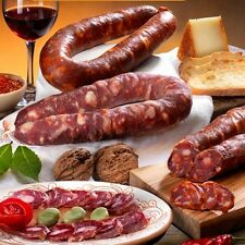 """Salsiccia """"Girella"""" - Salame tipico calabrese versione piccante - 300 gr"""