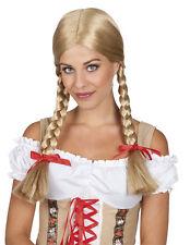 Heidi Wig with Plaits Blonde