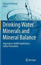 Drinking Water Minerals and Mineral Balance : Importance, Health...
