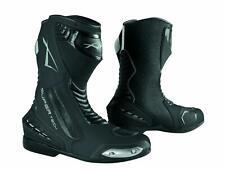 Paddock Motorcycle Motobike Sport Boots Racing Track Performance Evo Black 42