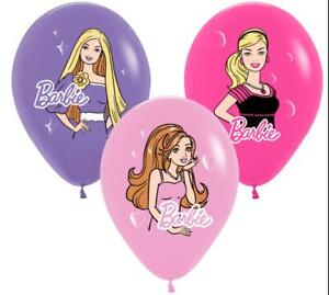 Barbie Birthday Girls Party Supplies Balloons Plates Cups Bunting Napkins Decor
