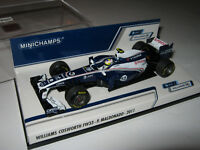1:43 WILLIAMS Cosworth FW33 P. Maldonado Minichamps 410110012 OVP NEU