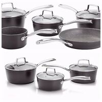 Non Stick pans Stellar Rocktanium pans INDUCTION Safe Assorted Set of 3 Set of 5