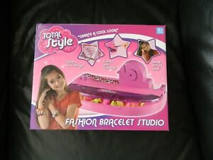 New Girls Craft Set Fashion Bracelet Studio Total Style Age 4+
