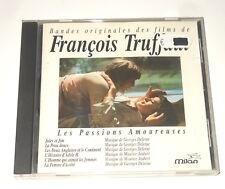Georges Delerue - Maurice Jaubert - CD - FRANCOIS TRUFFAUT - Jules Et Jim -Peau