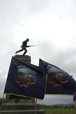 "First Minnesota Civil War Regimental Flag, REPRODUCTION Correct size (76"" x 77"")"