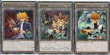 Yugioh Yami Kaiba Joey Token Cards - Ultra Rare Set Lot Yugi