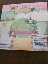 Paper Pad von StudioLight, neu, Papierblock, scrappen, Karten basteln Nr. 3